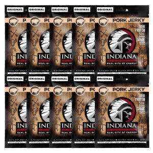 INDIANA Pork Jerky - 25g 10er  Pack