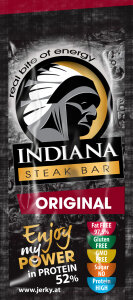 INDIANA Beef Steak Bar Original 20g Einzelpack